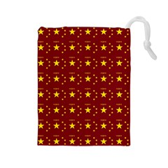 Chinese New Year Pattern Drawstring Pouches (Large)