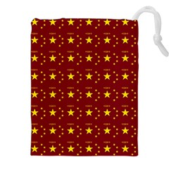 Chinese New Year Pattern Drawstring Pouches (XXL)