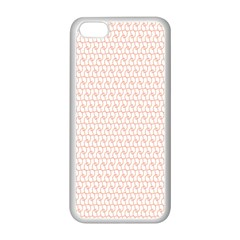 Rose Gold Line Apple Iphone 5c Seamless Case (white) by Jojostore