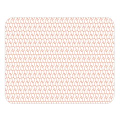 Rose Gold Line Double Sided Flano Blanket (large)