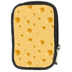 Seamless Cheese Pattern Compact Camera Cases by Jojostore