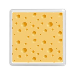 Seamless Cheese Pattern Memory Card Reader (square)  by Jojostore