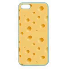 Seamless Cheese Pattern Apple Seamless Iphone 5 Case (color)