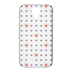Heart Love Valentine Purple Pink Samsung Galaxy S4 Classic Hardshell Case (pc+silicone) by Jojostore