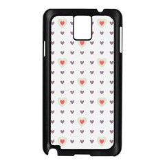 Heart Love Valentine Purple Pink Samsung Galaxy Note 3 N9005 Case (black) by Jojostore