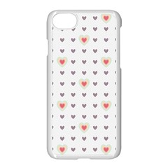 Heart Love Valentine Purple Pink Apple Iphone 7 Seamless Case (white)