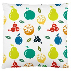 Fruit Lime Large Cushion Case (one Side) by Jojostore