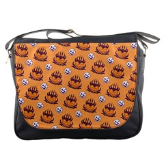 Helloween Moon Mad King Thorn Pattern Messenger Bags