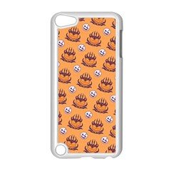 Helloween Moon Mad King Thorn Pattern Apple Ipod Touch 5 Case (white) by Jojostore