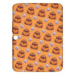 Helloween Moon Mad King Thorn Pattern Samsung Galaxy Tab 3 (10 1 ) P5200 Hardshell Case  by Jojostore