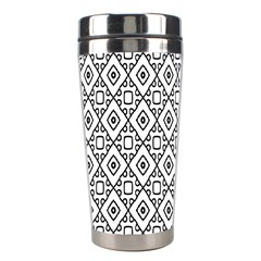 Triangel Plaid Stainless Steel Travel Tumblers