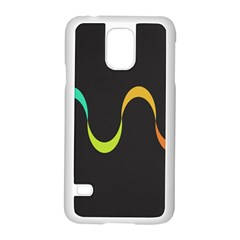 Artwork Simple Minimalism Colorful Samsung Galaxy S5 Case (white) by Jojostore