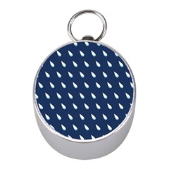 Another Rain Day Water Blue Mini Silver Compasses by Jojostore