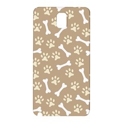 Background Bones Small Footprints Brown Samsung Galaxy Note 3 N9005 Hardshell Back Case