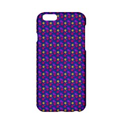 Beach Blue High Quality Seamless Pattern Purple Red Yrllow Flower Floral Apple Iphone 6/6s Hardshell Case by Jojostore