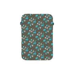 Animals Deer Owl Bird Bear Bird Blue Grey Apple Ipad Mini Protective Soft Cases by Jojostore
