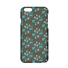 Animals Deer Owl Bird Bear Bird Blue Grey Apple Iphone 6/6s Hardshell Case by Jojostore