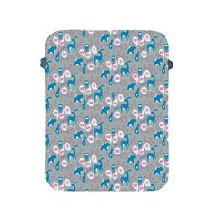 Animals Deer Owl Bird Bear Grey Blue Apple Ipad 2/3/4 Protective Soft Cases by Jojostore