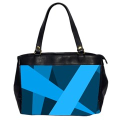 Blue Flag Office Handbags (2 Sides)