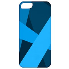 Blue Flag Apple Iphone 5 Classic Hardshell Case