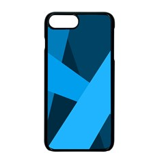 Blue Flag Apple Iphone 7 Plus Seamless Case (black) by Jojostore