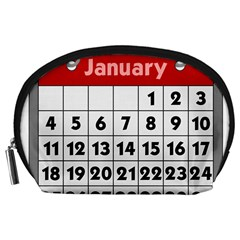 Calendar Clip January Accessory Pouches (large)