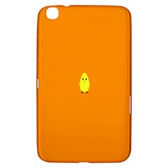 Chicks Orange Animals Samsung Galaxy Tab 3 (8 ) T3100 Hardshell Case  by Jojostore