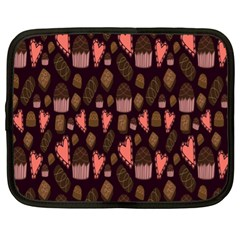 Bread Chocolate Candy Netbook Case (xl)  by Jojostore