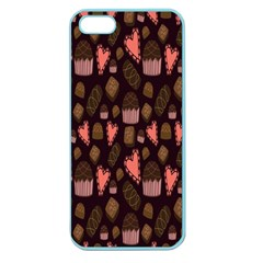 Bread Chocolate Candy Apple Seamless Iphone 5 Case (color)
