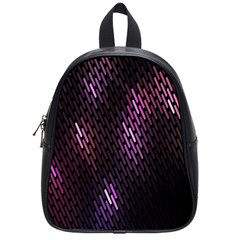 Fabulous Purple Pattern Wallpaper School Bags (small)  by Jojostore