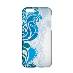 Garphic Leaf Flower Blue Apple Iphone 6/6s Hardshell Case by Jojostore