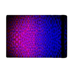 Geometri Purple Pink Blue Shape Pattern Flower Ipad Mini 2 Flip Cases by Jojostore