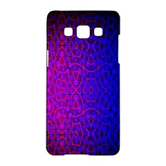 Geometri Purple Pink Blue Shape Pattern Flower Samsung Galaxy A5 Hardshell Case  by Jojostore
