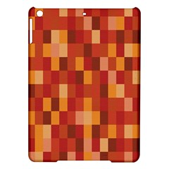 Canvas Decimal Triangular Box Plaid Pink Ipad Air Hardshell Cases
