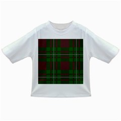 Cardney Tartan Fabric Colour Green Infant/toddler T Shirts