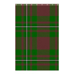 Cardney Tartan Fabric Colour Green Shower Curtain 48  X 72  (small)  by Jojostore