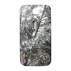 Winter Fall Trees Samsung Galaxy S4 I9500/i9505  Hardshell Back Case by ansteybeta