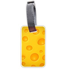 Cheese Luggage Tags (one Side)