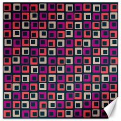 Abstract Squares Canvas 20  X 20   by Jojostore