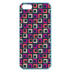 Abstract Squares Apple Seamless Iphone 5 Case (color) by Jojostore
