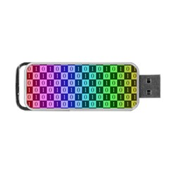 Checker Number One Portable Usb Flash (one Side) by Jojostore