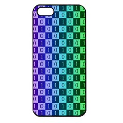 Checker Number One Apple Iphone 5 Seamless Case (black)