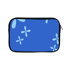 Flower Floral Blue Apple Ipad Mini Zipper Cases