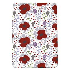 Flower Floral Rose Leaf Red Purple Flap Covers (l)  by Jojostore