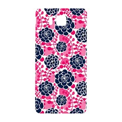 Flower Floral Rose Purple Pink Leaf Samsung Galaxy Alpha Hardshell Back Case