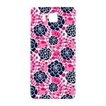 Flower Floral Rose Purple Pink Leaf Samsung Galaxy Alpha Hardshell Back Case Front