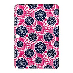 Flower Floral Rose Purple Pink Leaf Samsung Galaxy Tab Pro 12 2 Hardshell Case by Jojostore