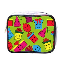 Happy Birthday Background Mini Toiletries Bags