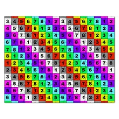 Mapping Grid Number Color Rectangular Jigsaw Puzzl by Jojostore