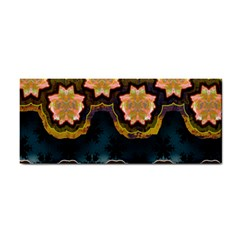 Ornate Floral Textile Cosmetic Storage Cases by Jojostore